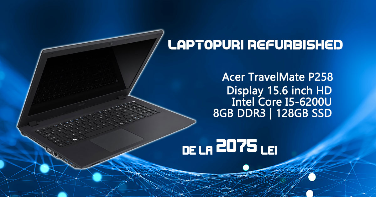 Laptopuri Refurbished Acer TravelMate