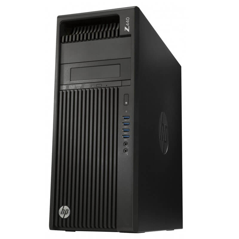 Workstation Second Hand HP Z440, Xeon Quad Core E5-1603 v3, GeForce GT630