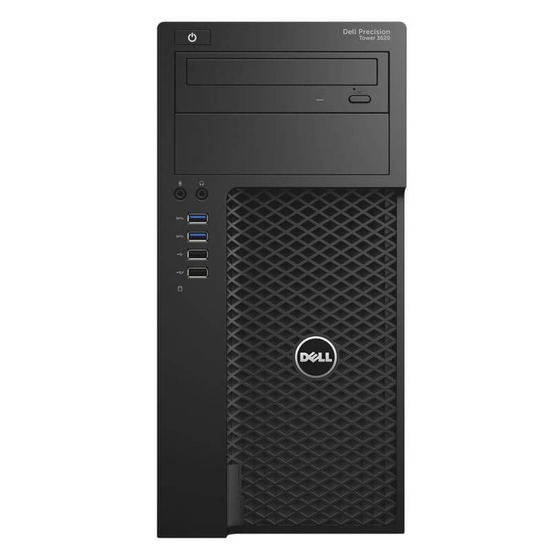 Workstation Second Hand Dell Precision 3620 MT, Xeon E3-1245 v5, SSD, 32GB