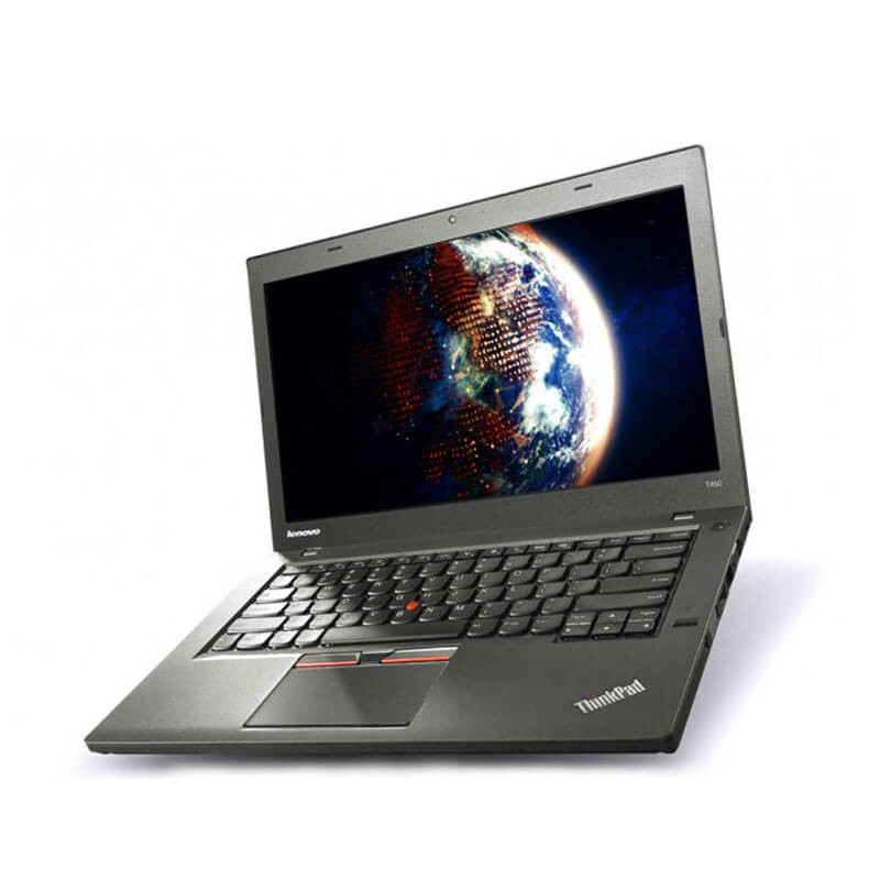 Laptopuri SH Lenovo ThinkPad T450s, i7-5600U, SSD, TouchScreen Full HD, Webcam
