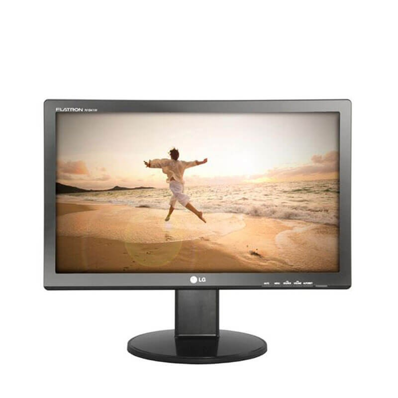 Monitoare Second Hand LCD LG N1941wp, 19 inch WideScreen, Grad B