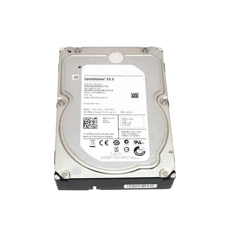 Hard Disk Refurbished Seagate Constellation ES.3 4TB, 7200 RPM, SATA 3, 128MB Cache