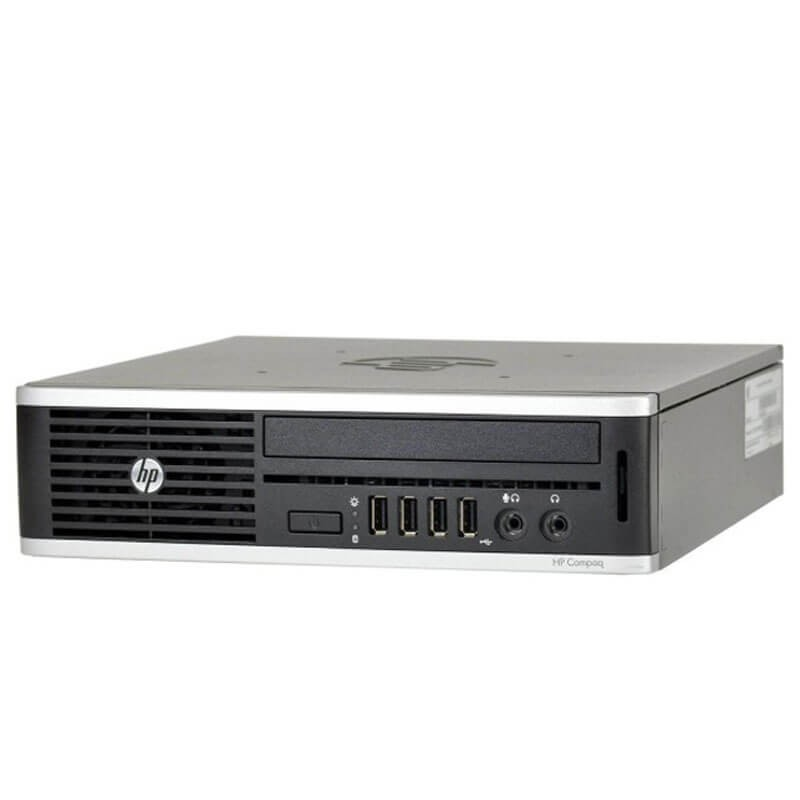 PC Second Hand HP Elite 8300 USDT, Intel i3-3220, 8GB DDR3, 120GB SSD NOU