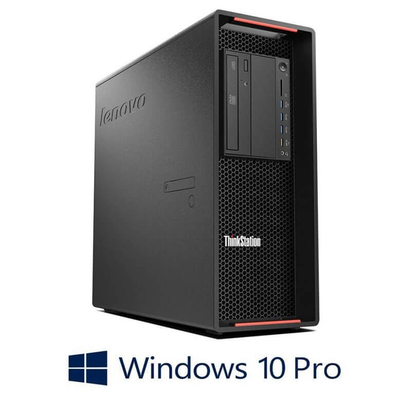 Workstation Refurbished Lenovo ThinkStation P500, E5-1630 v3, SSD, Quadro K4200, Win 10 Pro