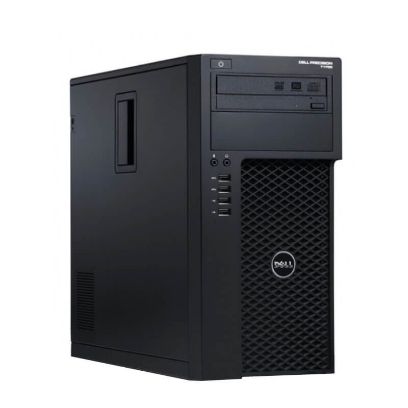 Workstation Second Hand Dell Precision 3620 MT, Quad Core E3-1245 v5, SSD, 32GB