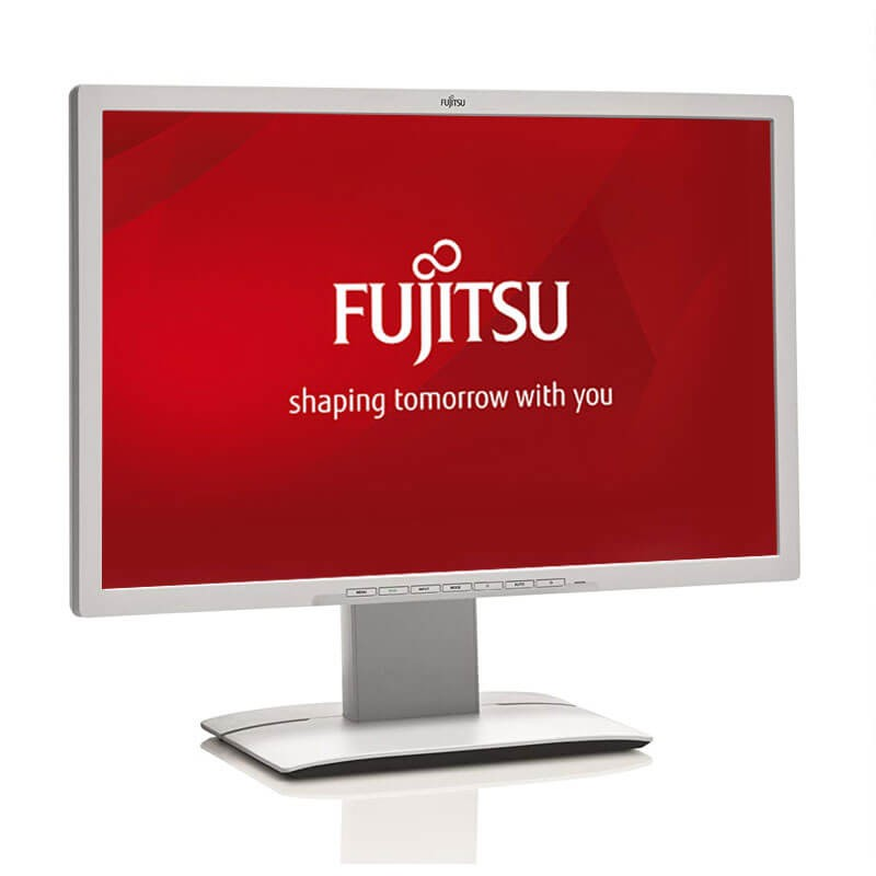 Monitoare LED Refurbished Fujitsu B24W-6, 24 inch Full HD