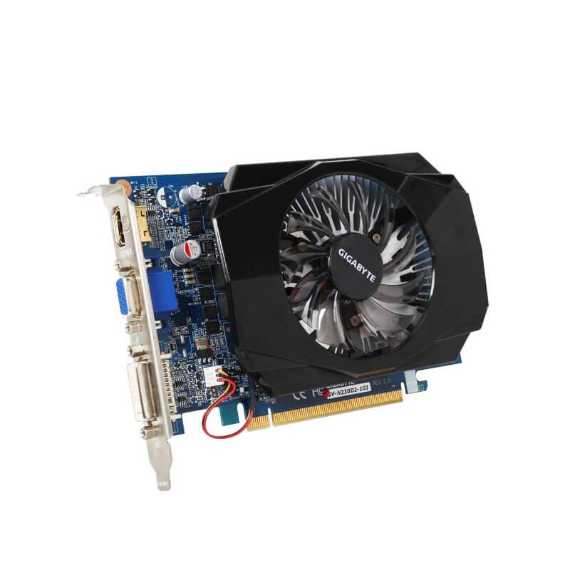 Placi Video Refurbished GIGABYTE GV-N210D2-1GI 1GB GDDR2 128-bit