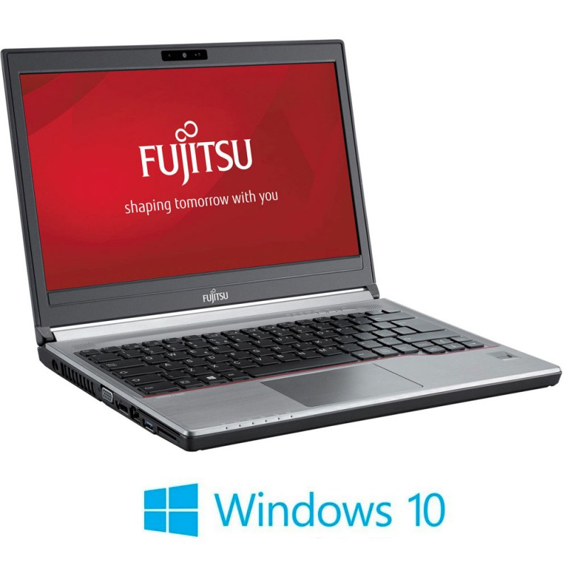 Laptop Refurbished Fujitsu LIFEBOOK E734, i3-4000M, Windows 10 Home