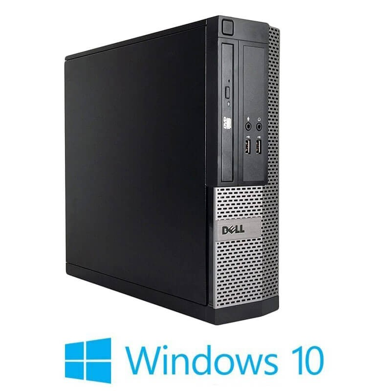Calculatoare Refurbished Dell OptiPlex 3020 SFF, Core i3-4130, SSD, Windows 10 Home