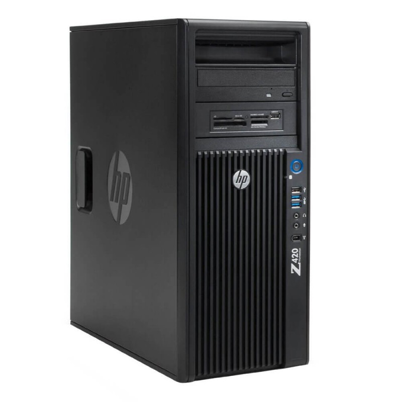 Workstation Second Hand HP Z420, Xeon Octa Core E5-2670, nVIDIA Quadro K4000