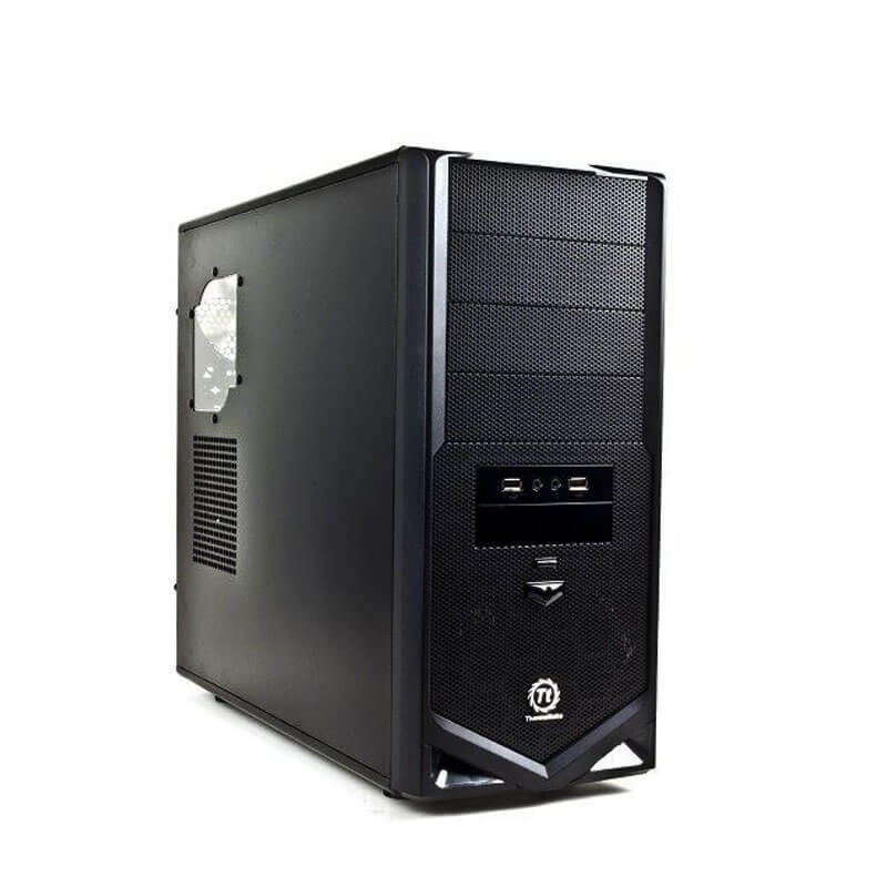 Carcase Second Hand Thermaltake V4 Black Edition ATX Mid Tower, VM30001W2Z