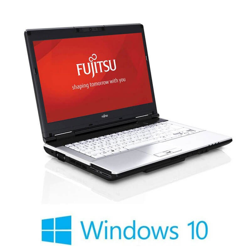 Laptop Refurbished Fujitsu LIFEBOOK S751, Intel Core i5-2520M, Win 10 Home