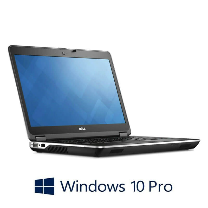 Laptopuri Refurbished Dell Latitude E6440, i7-4610M, 250GB SSD, Full HD, Win 10 Pro