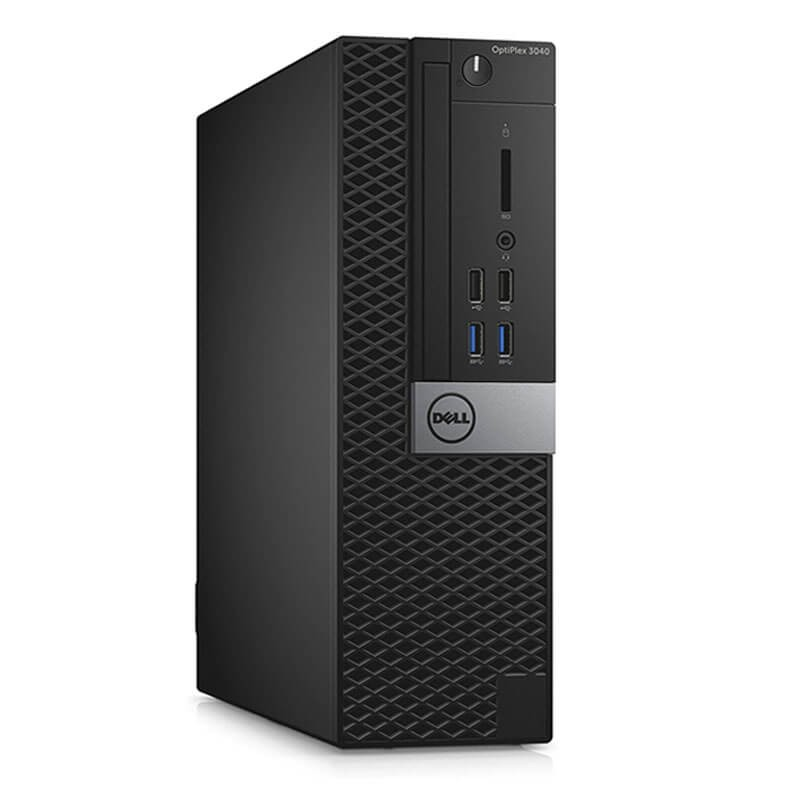 Calculatoare SH Reconditionate Dell OptiPlex 3040 SFF, Quad Core i5-6400, 128GB SSD