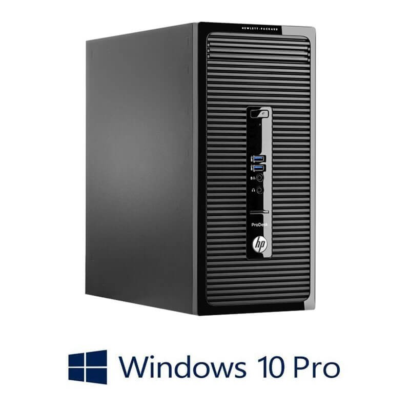 Calculatoare Refurbished HP ProDesk 400 G2 MT, Quad Core i7-4790K, Win 10 Pro