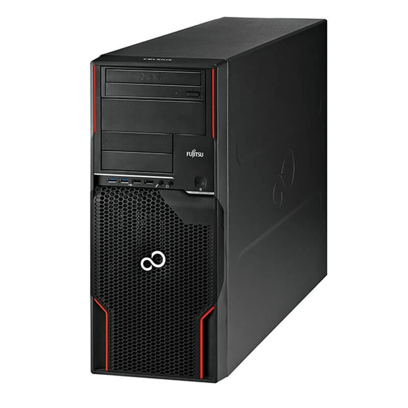 Workstation SH Fujitsu CELSIUS W520, Xeon Quad Core E3-1230 v2, Quadro K2000 2GB