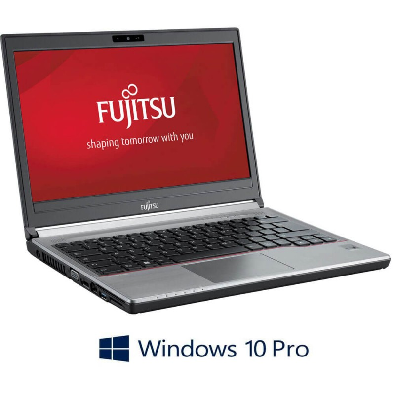 Laptop Refurbished Fujitsu LIFEBOOK E734, i3-4000M, Windows 10 Pro