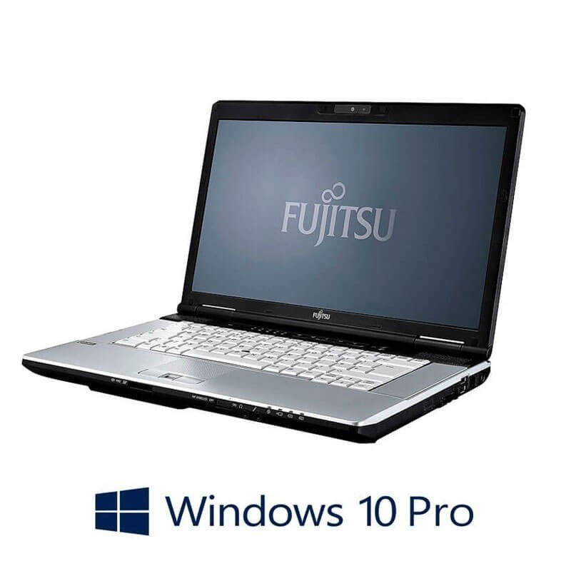 Laptop Refurbished Fujitsu LIFEBOOK S751, Core i3-2350M, Webcam, Win 10 Pro