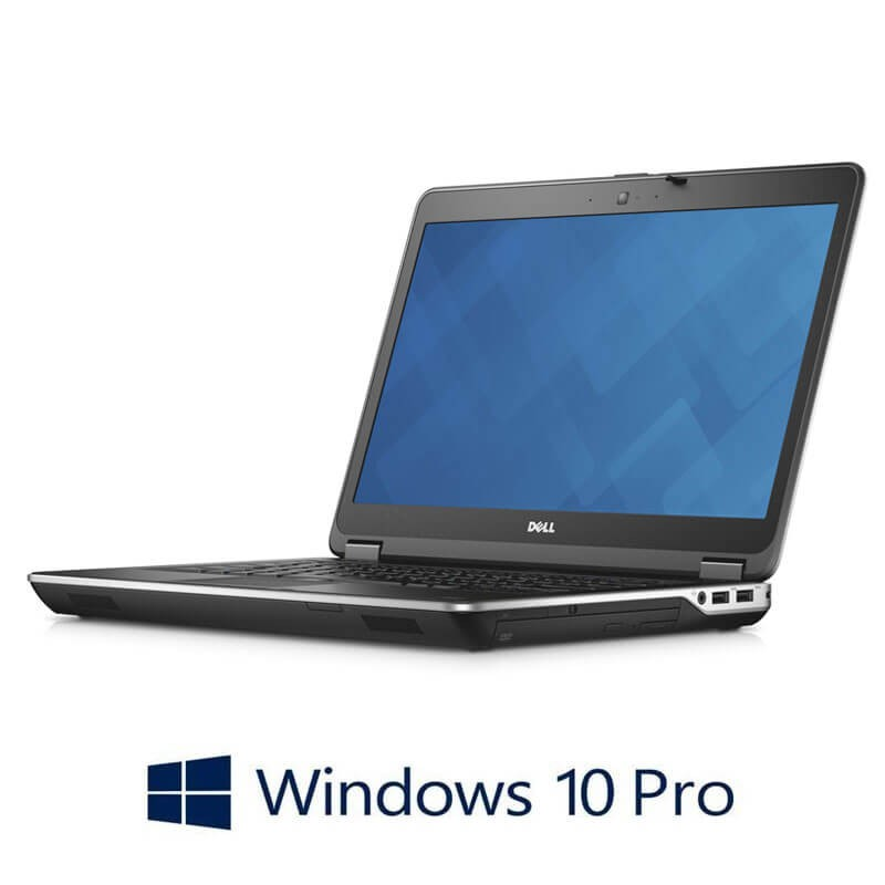 Laptopuri Refurbished Dell Latitude E6440, i7-4600M, 256GB SSD, Webcam, Win 10 Pro
