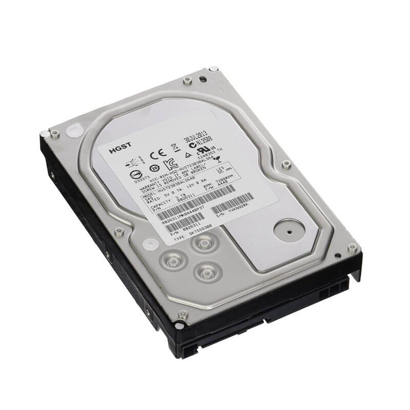 Hard Disk Refurbished HUS723030ALS640 3TB SAS 6.0Gbps 3.5 inch, 64Mb Cache