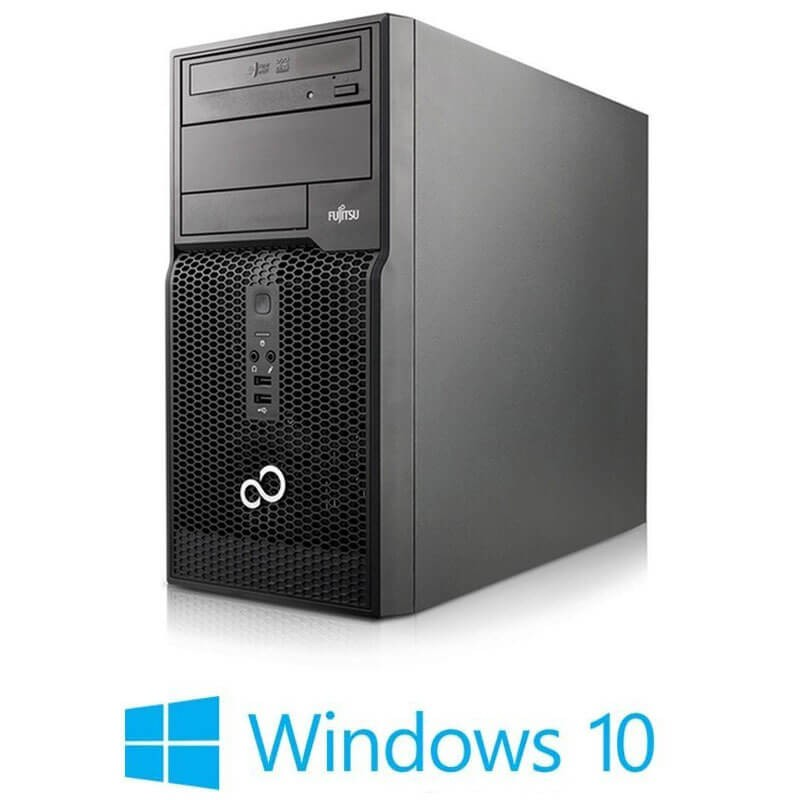 PC Refurbished Fujitsu ESPRIMO P500, Core i3-2100, Win 10 Home