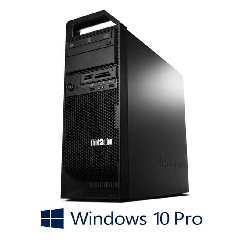 Workstation Refurbished Lenovo ThinkStation S30, E5-1620 v2, GeForce GT 240, Win 10 Pro