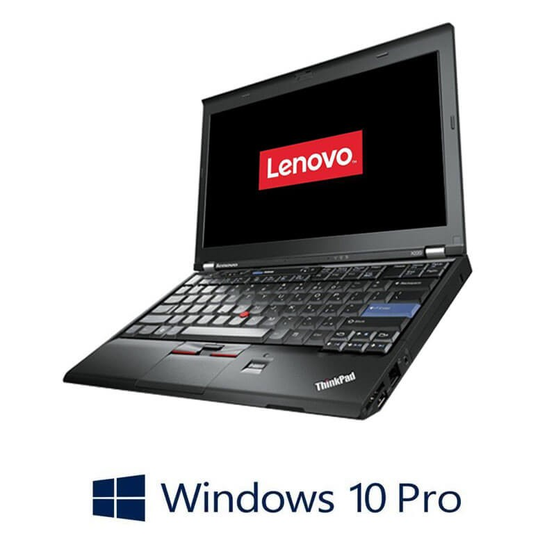 Laptopuri Refurbished Lenovo ThinkPad X220, Intel i5-2450M, Webcam, Win 10 Pro