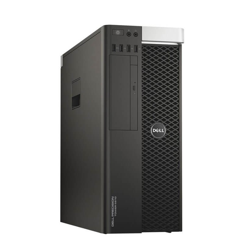 Workstation SH Dell Precision 5810 MT, E5-2680 v3 12-Core, 64GB DDR4, Quadro K4200