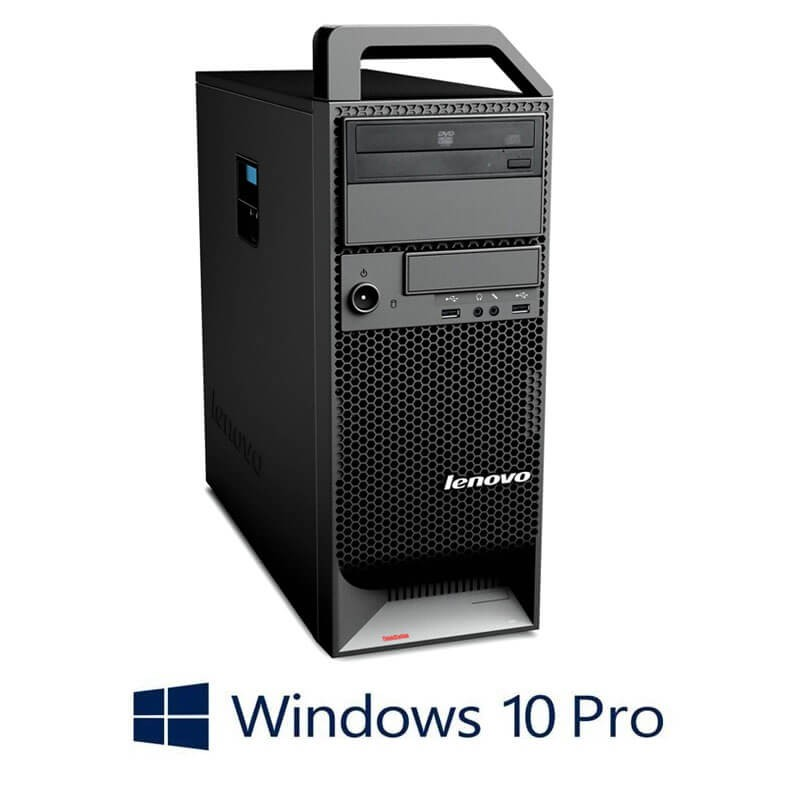 Workstation Refurbished Lenovo ThinkStation S20, Xeon X5650, Quadro 2000, Win 10 Pro