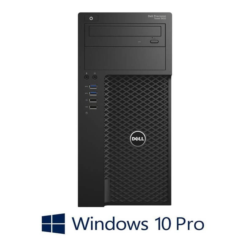 Workstation Second Hand Dell Precision 3620 MT, E3-1245 v5, SSD, 32GB, Win 10 Pro