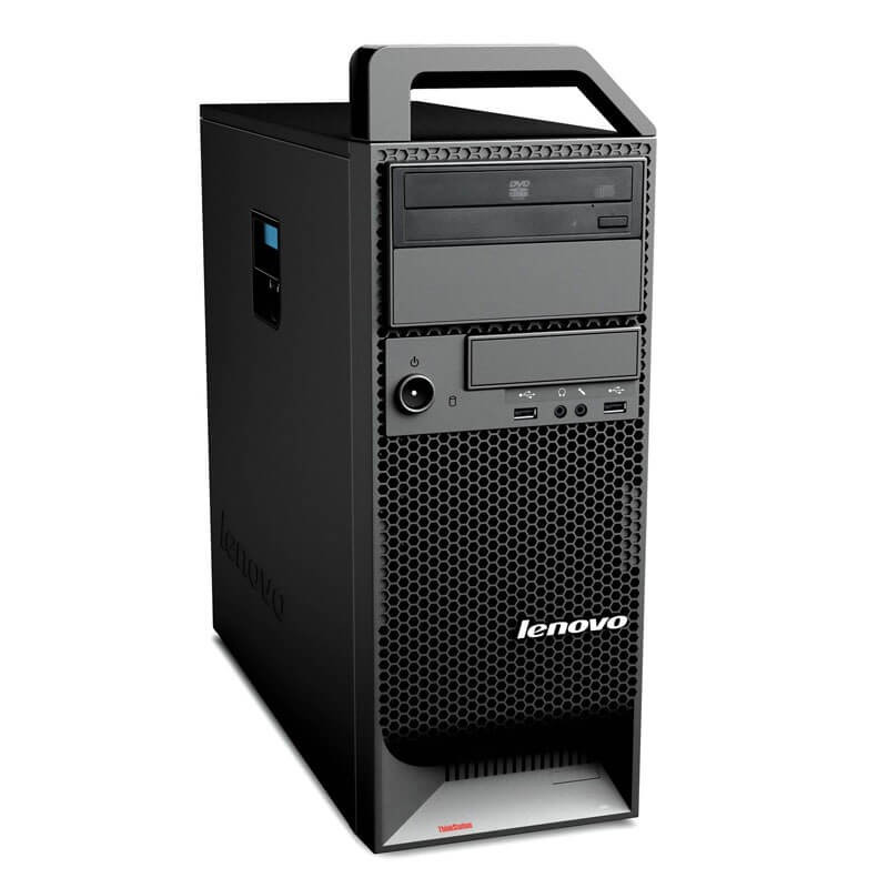 Workstation SH Lenovo ThinkStation S20, Hexa Core X5650, NVidia Quadro 2000