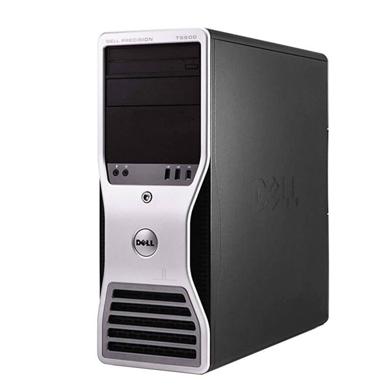 Workstation second hand Dell Precision T5500, Xeon Hexa Core X5650, 24GB