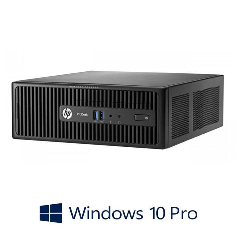 Calculatoare Refurbished HP ProDesk 400 G2.5 SFF, Quad Core i5-4570S, Win 10 Pro