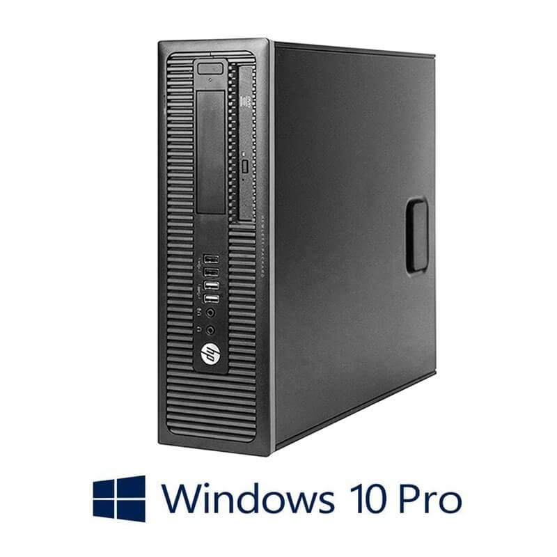 Calculatoare Refurbished HP Prodesk 600 G1 SFF, i7-4790K, 128GB SSD, Win 10 Pro