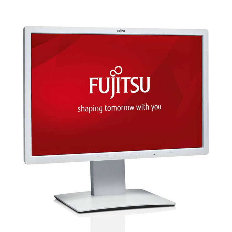 Monitoare Refurbished LED Fujitsu B24W-7, Panel IPS, Full HD