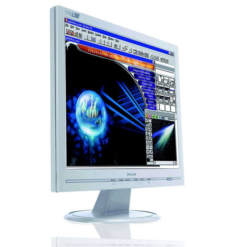 Monitoare Refurbished LCD Philips 170S6, 17 inch