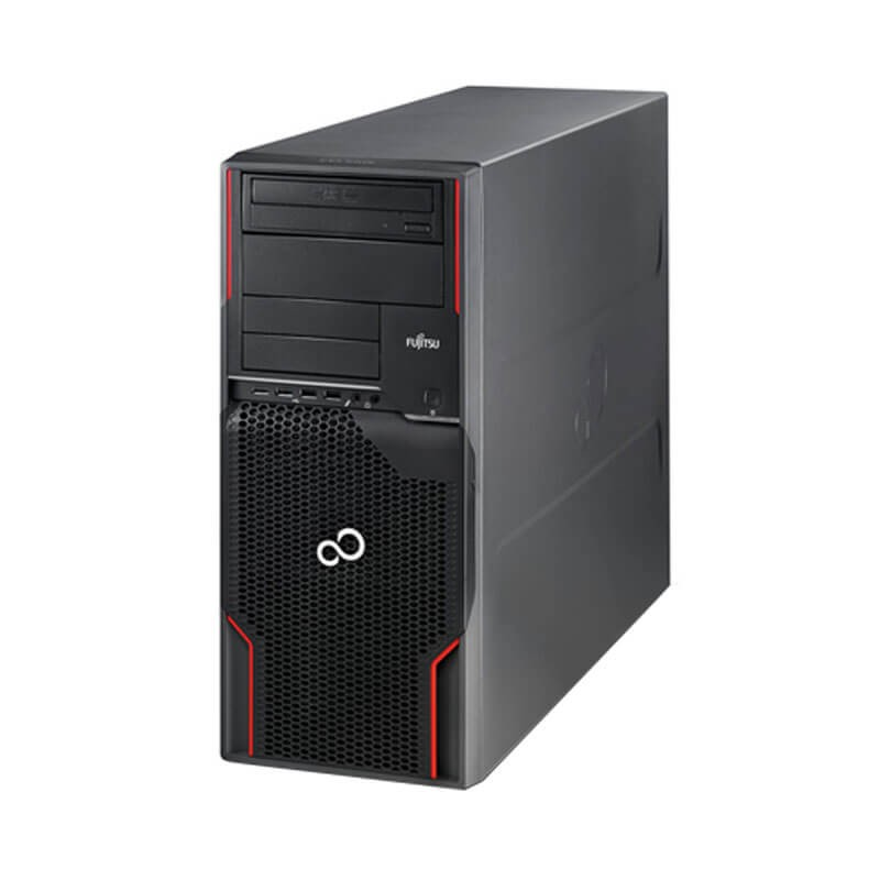 Workstation SH Fujitsu CELSIUS W510, Quad Core E3-1225, 128GB SSD, GeForce GT 240