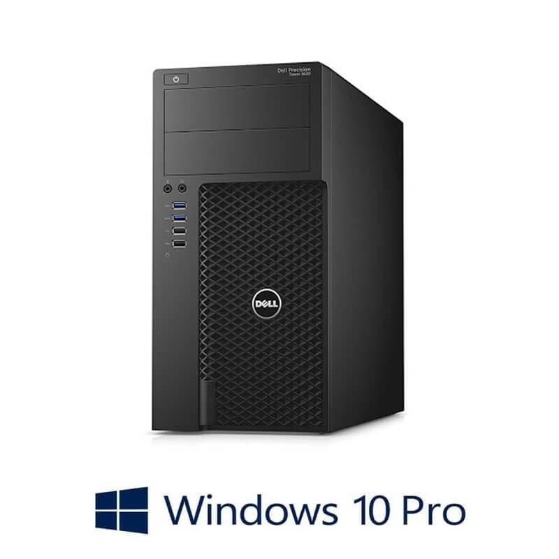 Workstation Refurbished Dell Precision 3620 MT, i7-6700, Quadro K4000, Win 10 Pro
