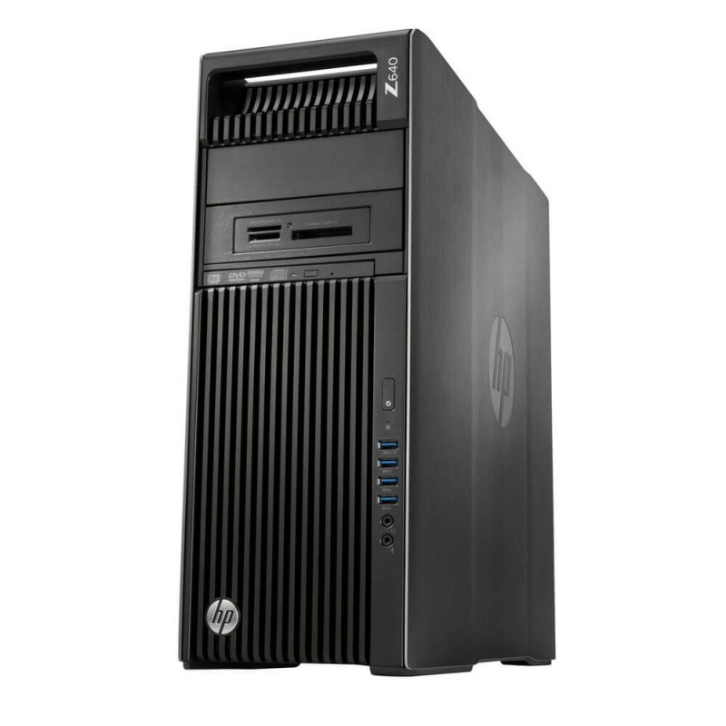 Workstation Second Hand HP Z640, Intel Xeon Octa Core E5-2630 v3