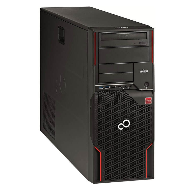Workstation SH Fujitsu CELSIUS W520, Quad Core E3-1230 v2, Quadro K2200 4GB 128-bit