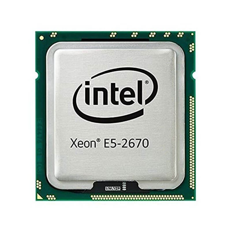 Procesor Refurbished Intel Xeon Octa Core E5-2670, 2.60GHz, 20Mb Cache