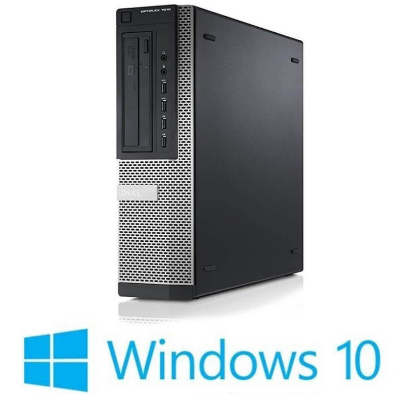 Calculatoare Refurbished Dell OptiPlex 7010 DT, Quad Core i5-3470S, Win 10 Home