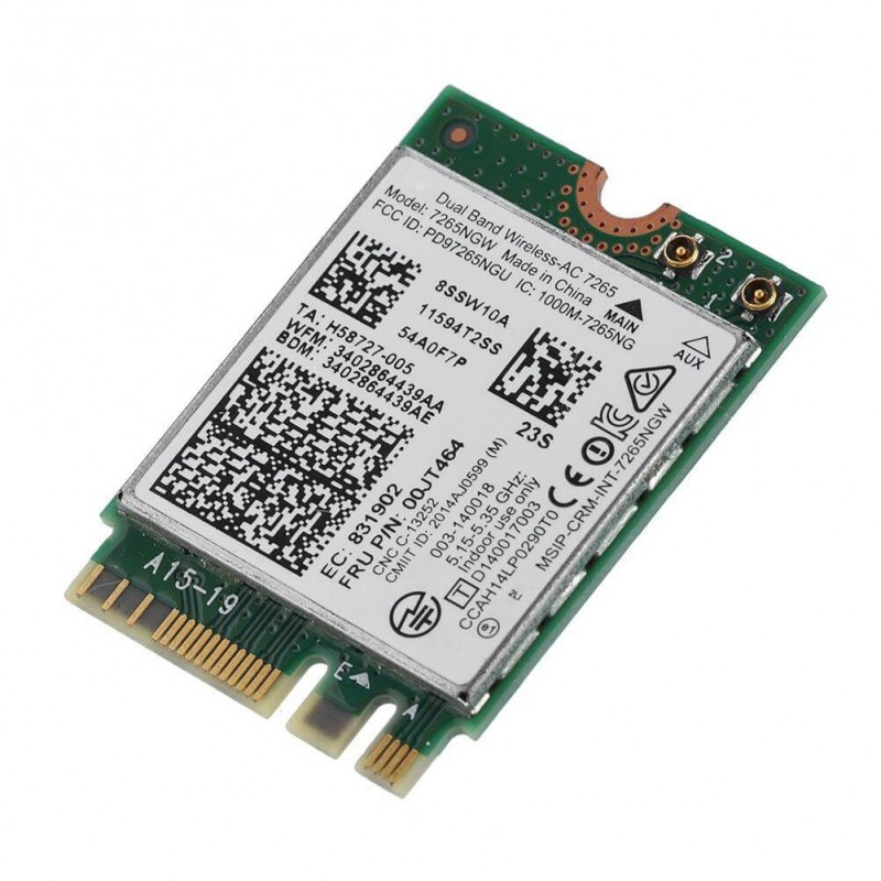 Placa Retea Refurbished Intel Dual Band Wireless-AC 7265