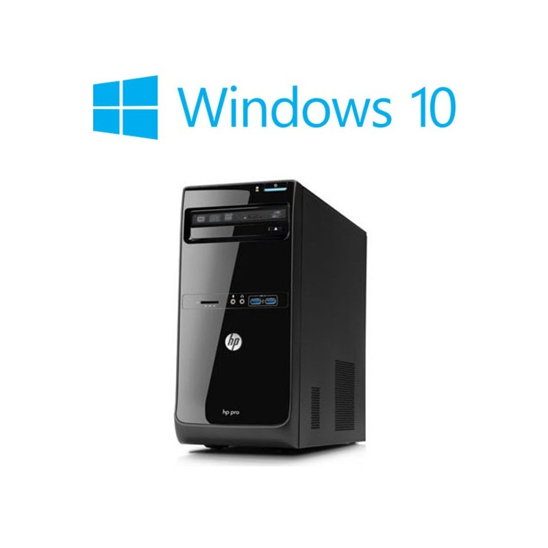 Calculatoare Refurbished HP Pro 3400 MT, Core i7-2600, Windows 10 Home