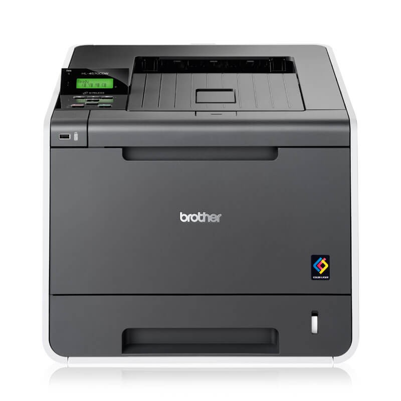 Imprimante Second Hand Laser Color Brother HL-4570CDW, Wireless