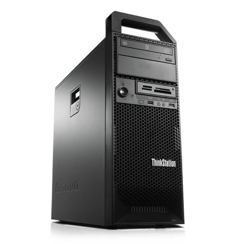 Workstation Second Hand Lenovo ThinkStation S30, Xeon E5-1620 v2, Quadro K4000