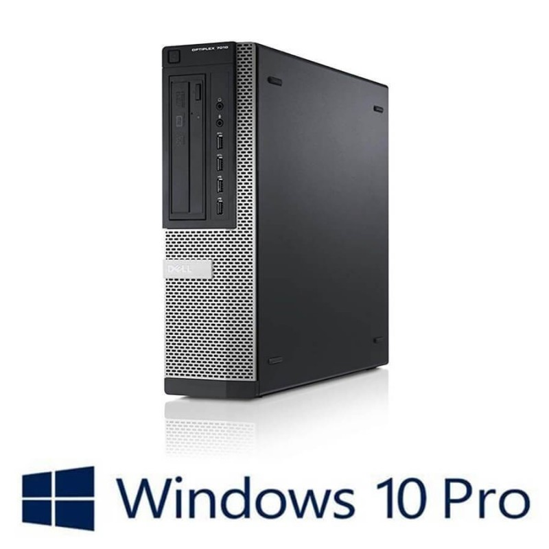 Calculatoare Refurbished Dell OptiPlex 7010 DT, Quad Core i5-3470S, Win 10 Pro