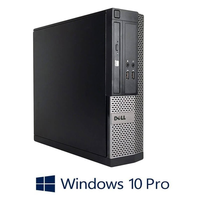 Calculatoare Refurbished Dell OptiPlex 3020 SFF, Core i3-4130, SSD, Windows 10 Pro