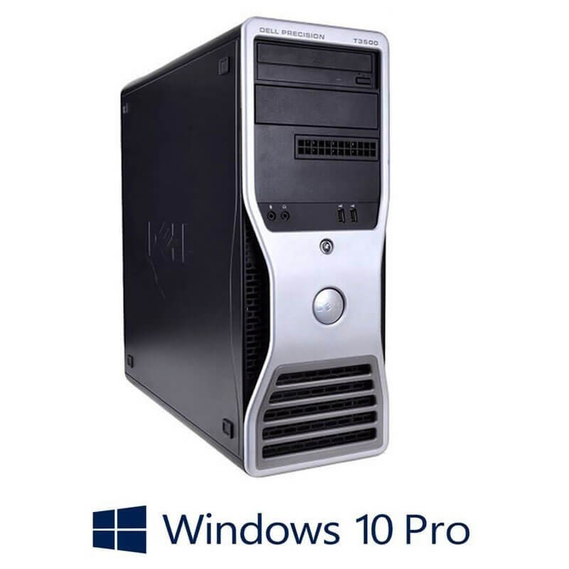 Workstation Refurbished Dell Precision T3500, E5645, Quadro K600, Win 10 Pro