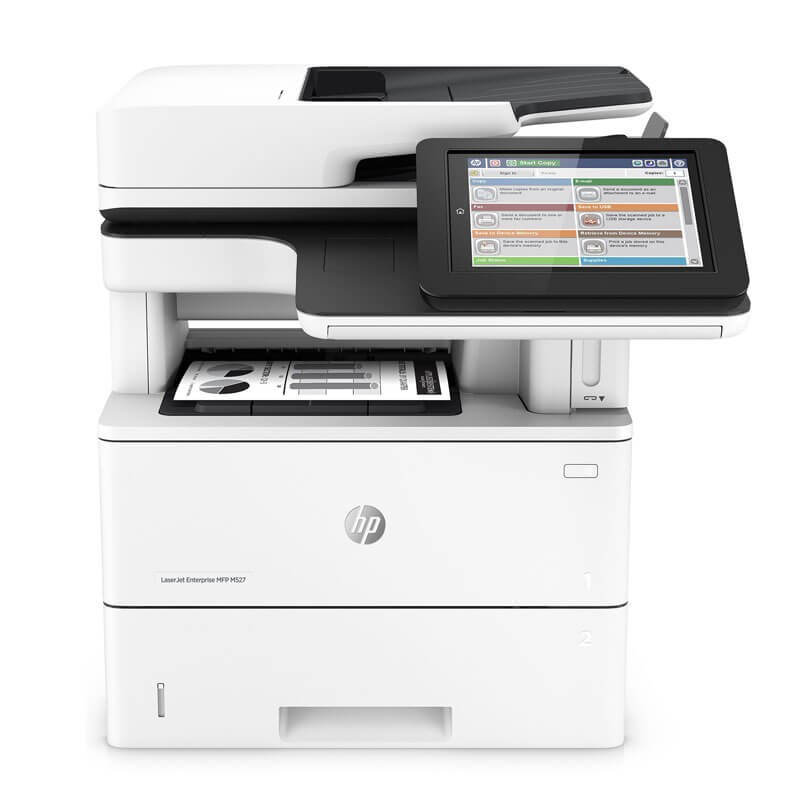 Multifunctionale Refurbished HP LaserJet Enterprise MFP M527dn